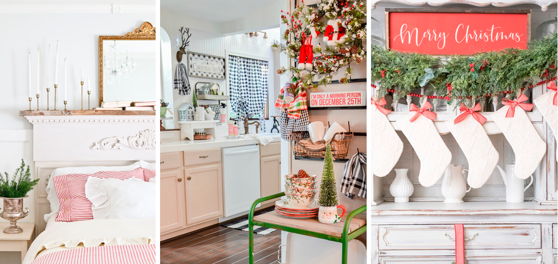 Новогодние хоум туры по домам блоггеров. Как украсить дом к новому году
