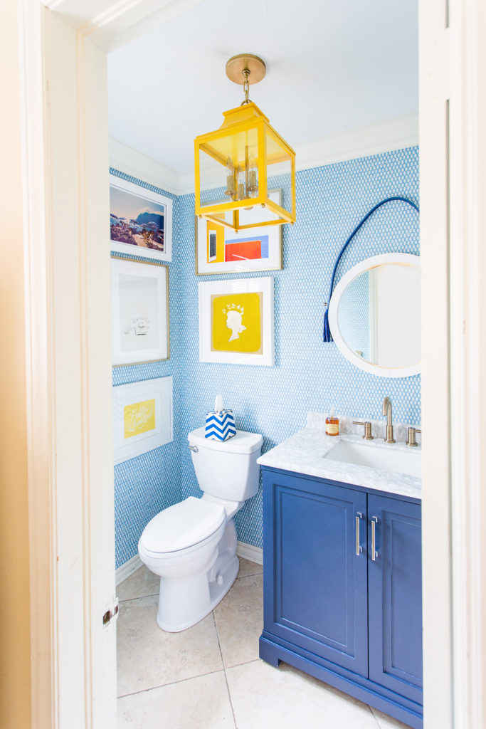 POWDER BATHROOM REVEAL!