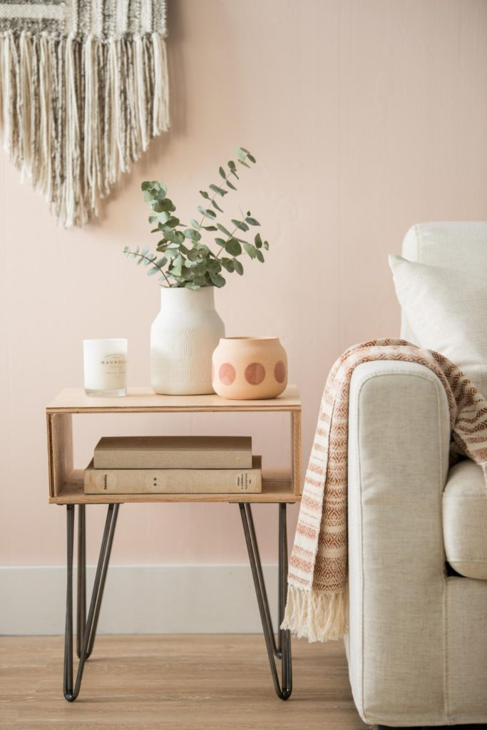How to Build and Style a Side Table