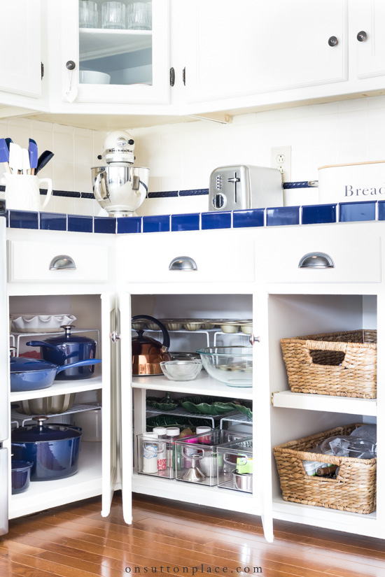 Kitchen Storage Ideas: Cookware & Utensils