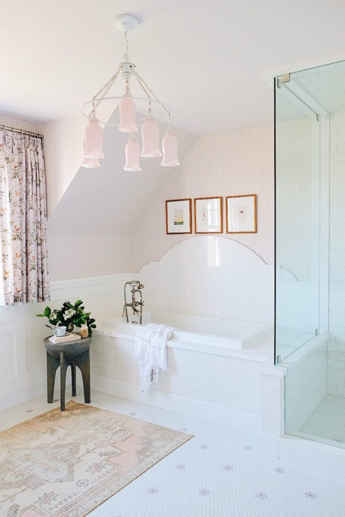 CLIENT REVEAL: THE PRETTIEST PINK BATHROOM