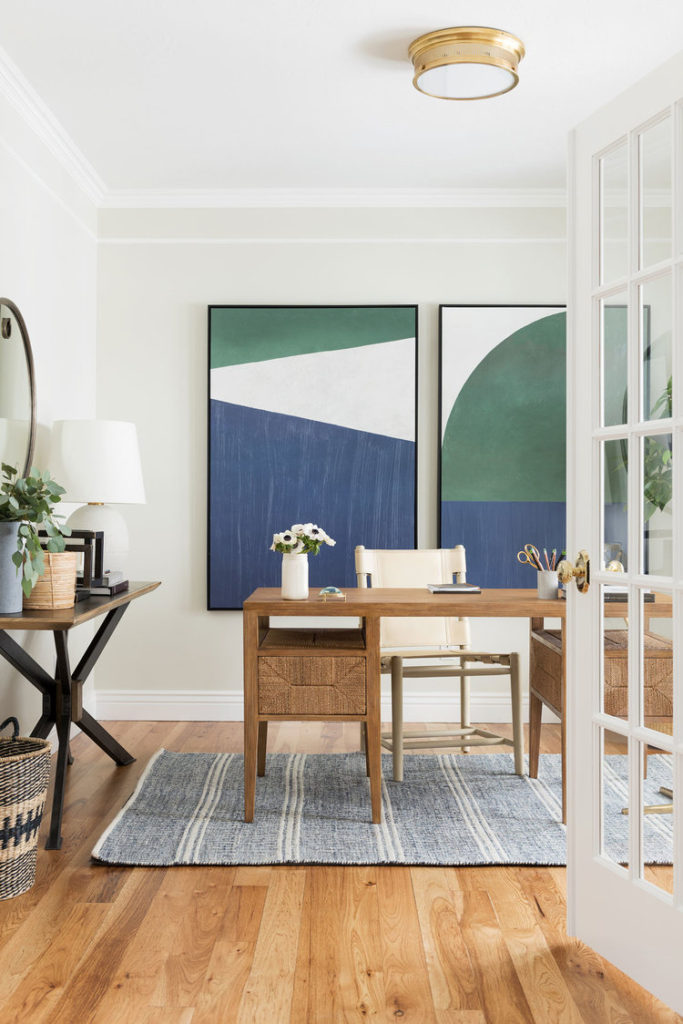 TWO-DAY TRANSFORMATION: COASTAL TRADITIONAL OFFICE