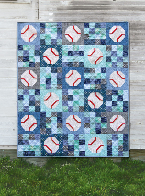 Batter Up – A Baseball Quilt!