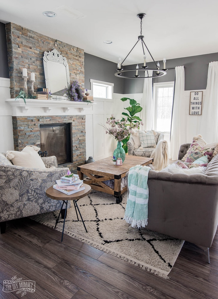 2019 Spring Home Tour: Romantic French Country with a Modern Twist