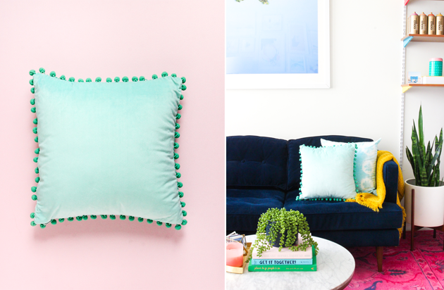 HOW TO STYLE YOUR SOFA + DIY PILLOWS 3 WAYS