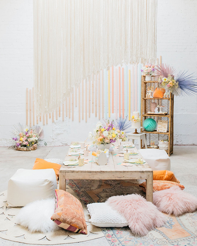 A MODERN & BOHO EASTER PARTY FOR KIDS