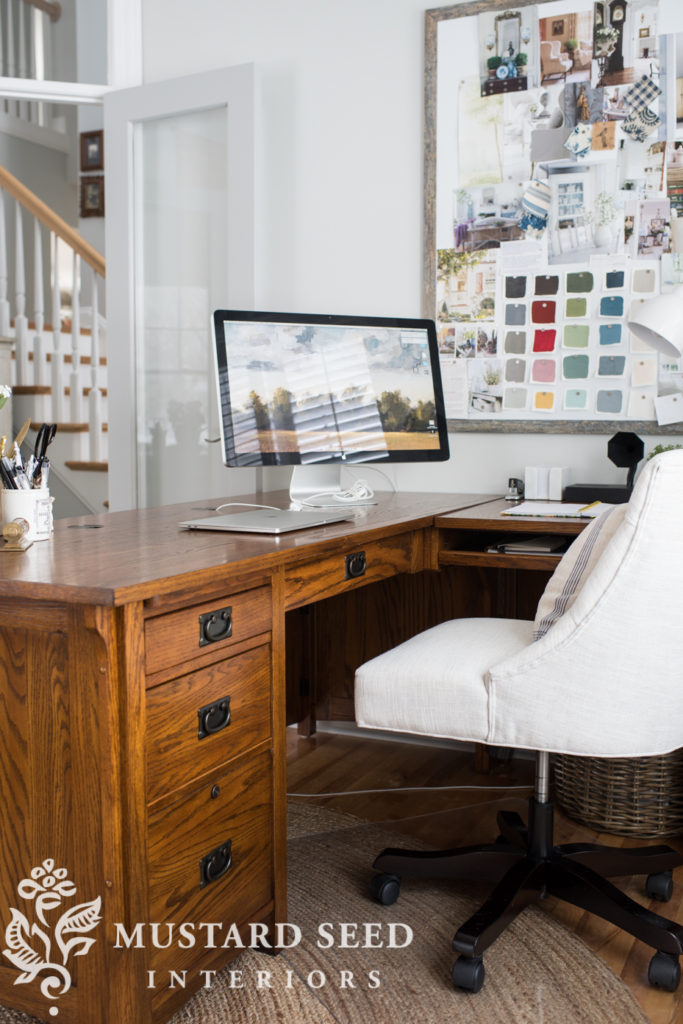 Timeless Home Office Makeover