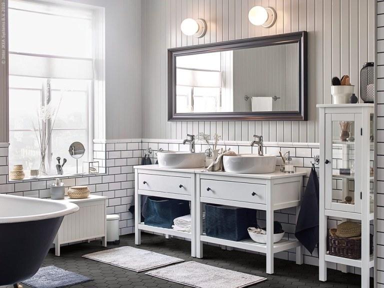 Comment créer et aménager une salle de bain blanche qui ne soit pas ennuyeuse