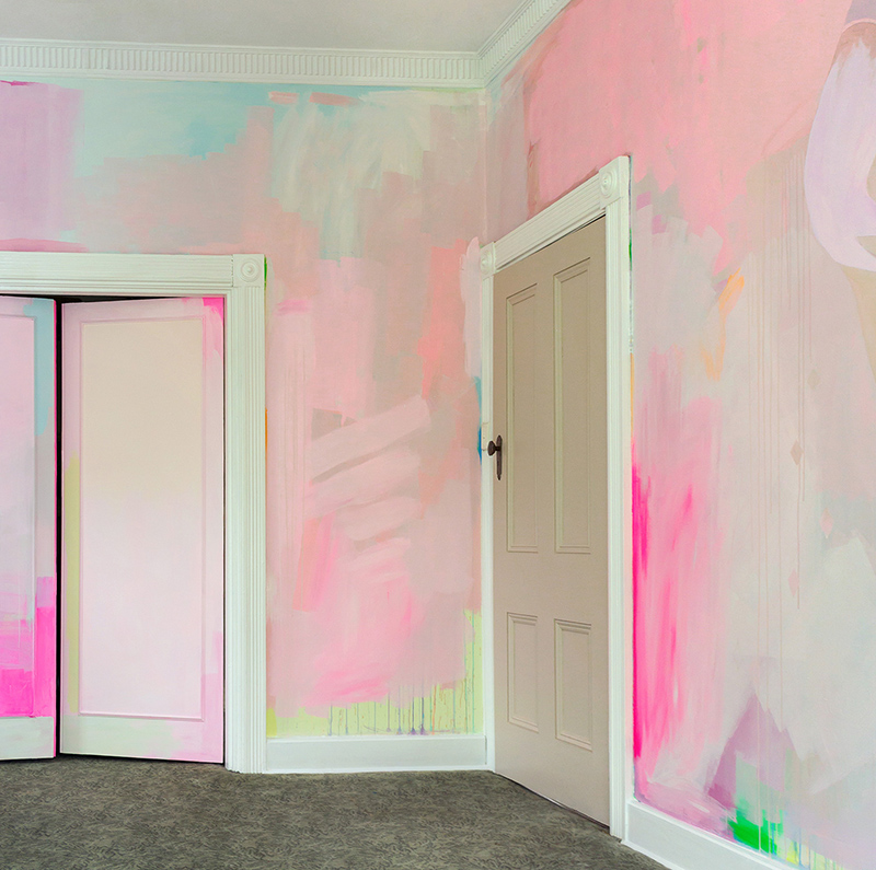 Interior Murals by Camille Javal