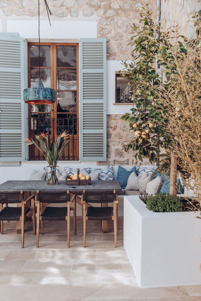 A Spectacular Spanish Townhouse on Mallorca