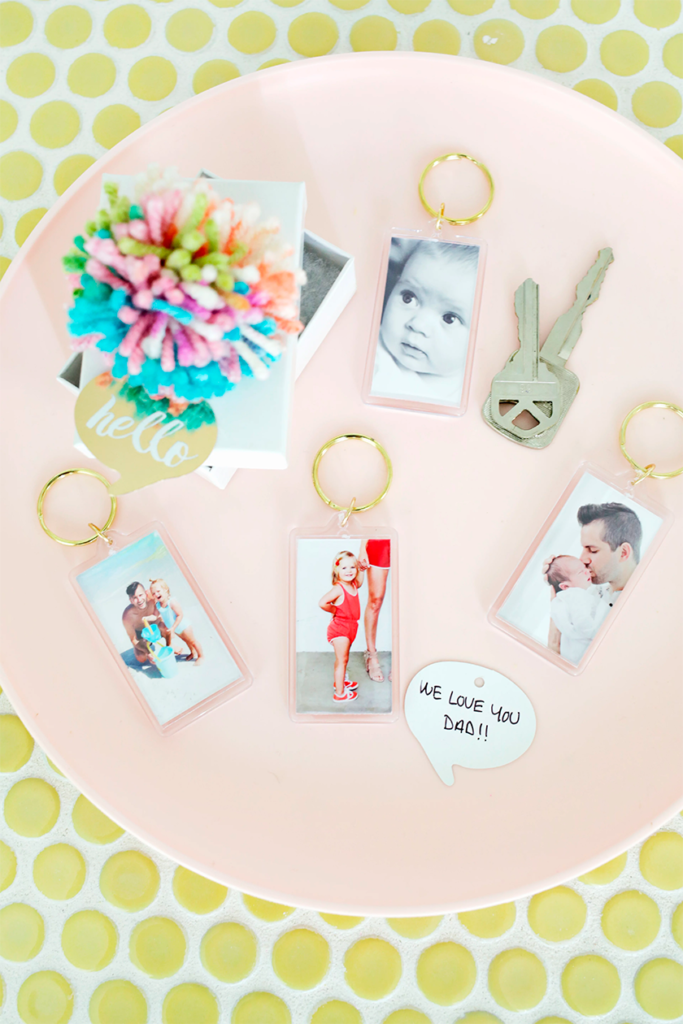 EASY PHOTO KEYCHAIN DIY