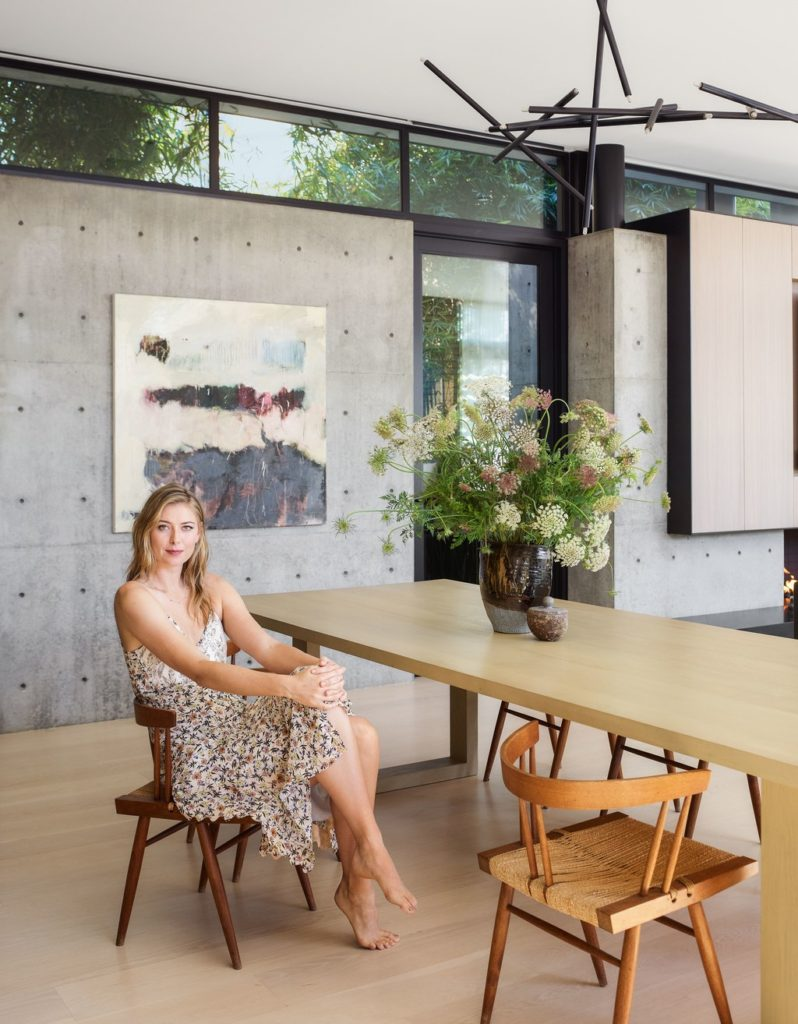 Step Inside Maria Sharapova's Sun-Drenched L.A. Home