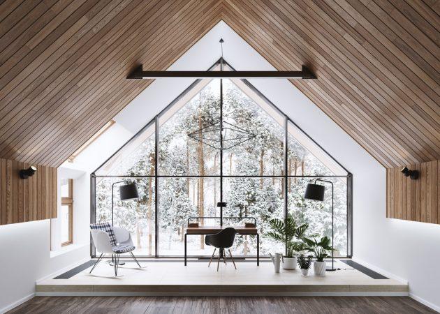 16 великолепных домашних офисов в стиле модерн