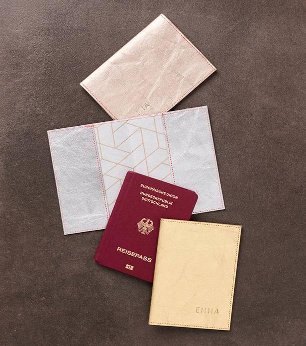 Стильная обложка для паспорта своими руками