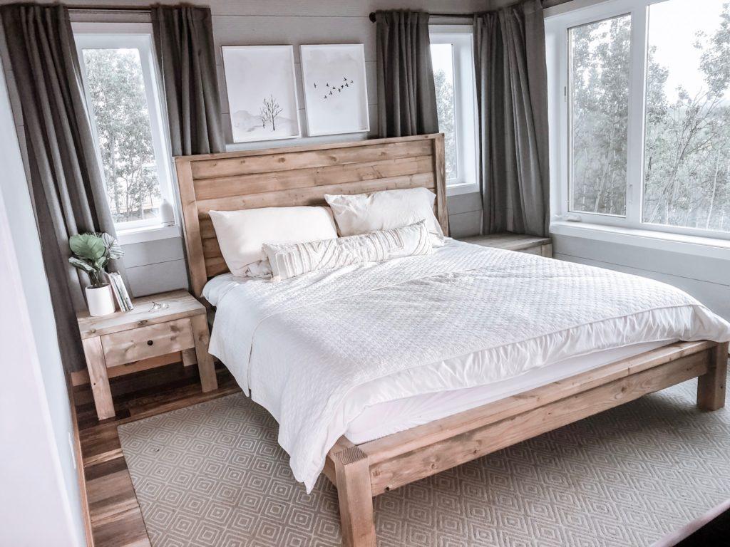 Кровать в стиле Farmhouse своими руками