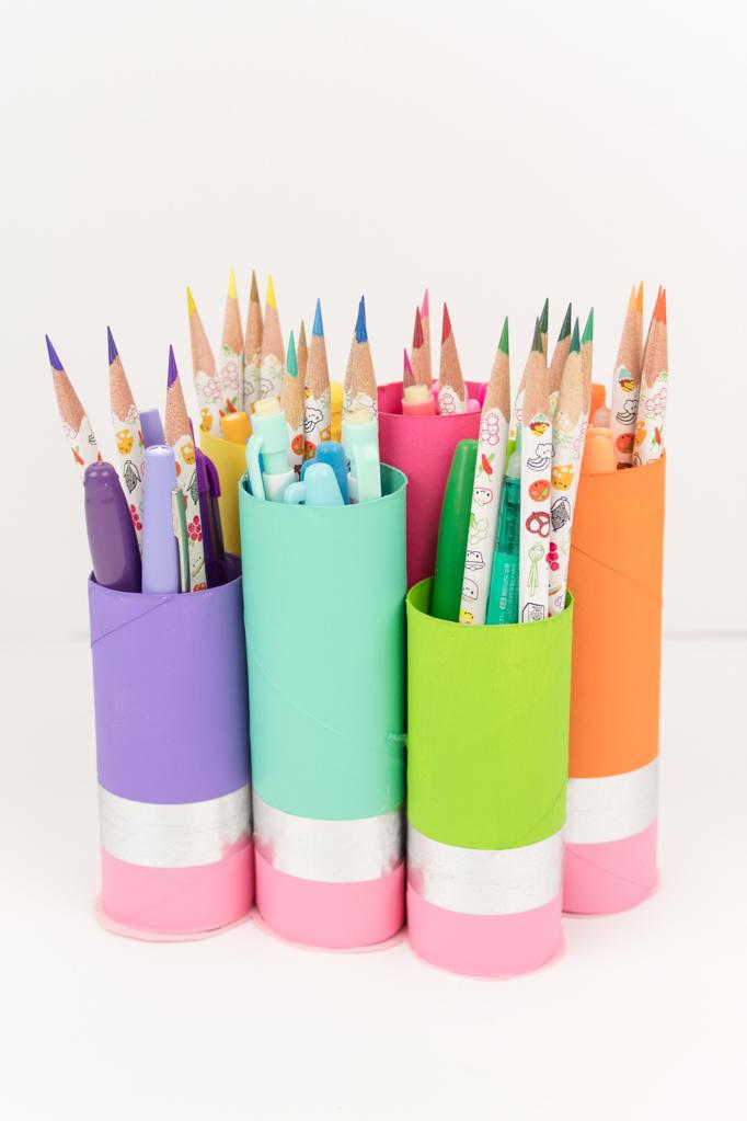 Подставка для карандашей своими руками
