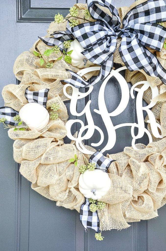 12 идей осенних декоративных венков своими руками