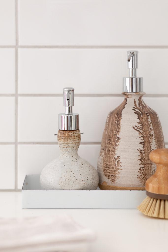 Диспансер для мыла из вазы своими руками