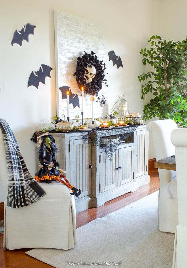 Как украсить дом на Хеллоуин