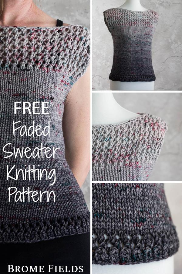 Стильный свитер своими руками